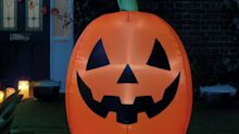 Get Halloween ready: Argos is selling a 4ft inflatable pumpkin for £20