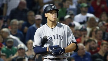 Aaron Judge denies shoulder issue has impacted recent slump