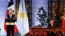 Chile, Argentina leaders pledge cooperation; express concern over Venezuela