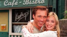 Former 'EastEnders' co-stars Tamzin Outhwaite and Martin Kemp share reunion