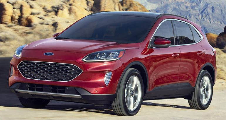 Redesigned 2020 Ford Escape Adds Tech Loses Weight