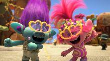 Trolls tops poll of mood-boosting films for children during lockdown