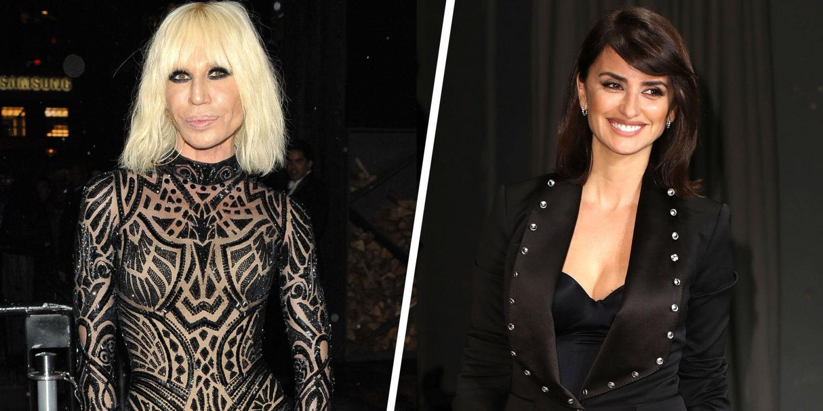 Penelope cruz will play donatella versace in 39 american for Donatella versace beach