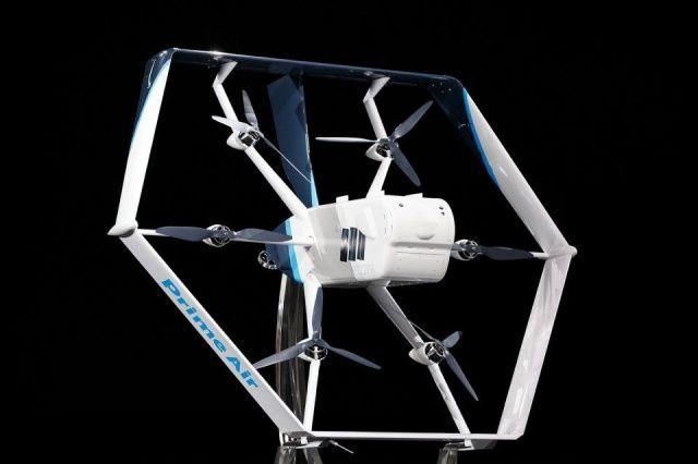 Image of Amazon's Prime Air Drone v2.0