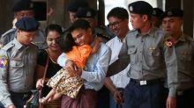 Civilian witness contradicts Myanmar police on Reuters reporters' arrest: defense