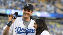 Mila Kunis shows off growing baby bump on sporty date with Ashton Kutcher