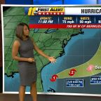 Hurricane Humberto: Storm strengthens to hurricane, moves toward Bermuda