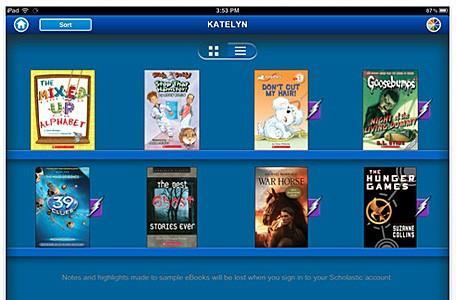 Scholastic releases iPad e-reader app for kids