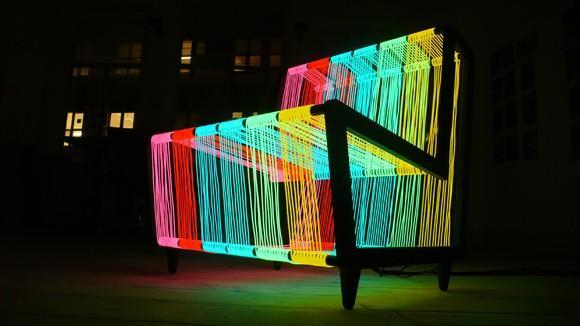 Disco Chair is way cooler than its name would lead you to believe