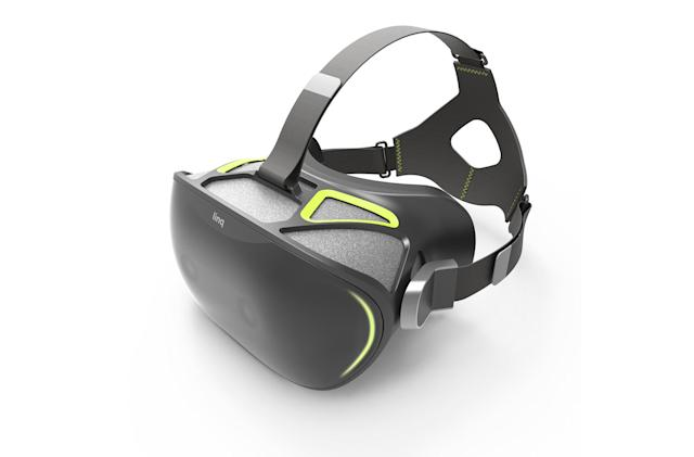 The Linq mixed reality headset blends the real and the virtual