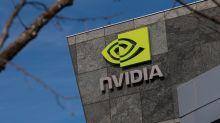 Nvidia Falls as U.K. Intervenes on $40 Billion Arm Deal