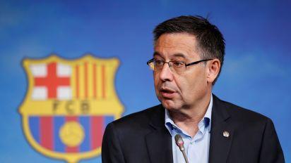 Reports: Barca president resigns amid turmoil