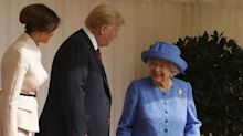 This Is Why People Think the Queen's Brooch During Trump's Visit Threw Shade at Him