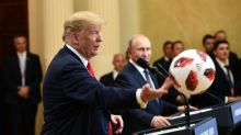 Putin leaves World Cup ball in Trump's half