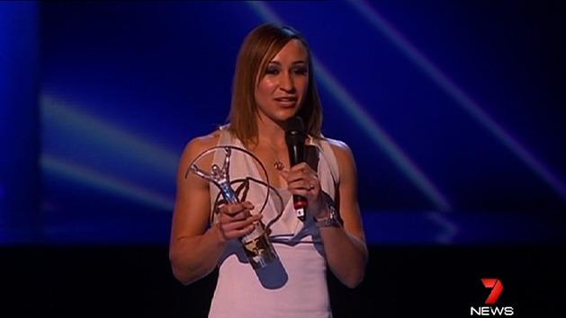 Ennis wins Sportswoman of the Year