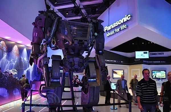 Panasonic commandeers 'Avatar' Powersuit for IFA display of force