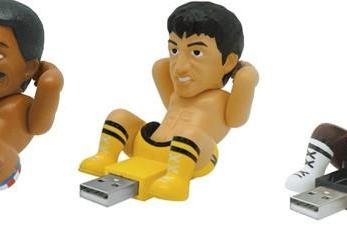 Rocky III USB drives sadly missing Burgess Meredith version
