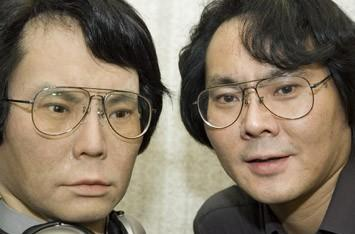 Hiroshi Ishiguro builds his evil android twin: Geminoid HI-1
