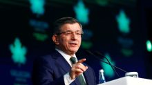 Turkey's power projection risks military clash in Mediterranean, former PM says
