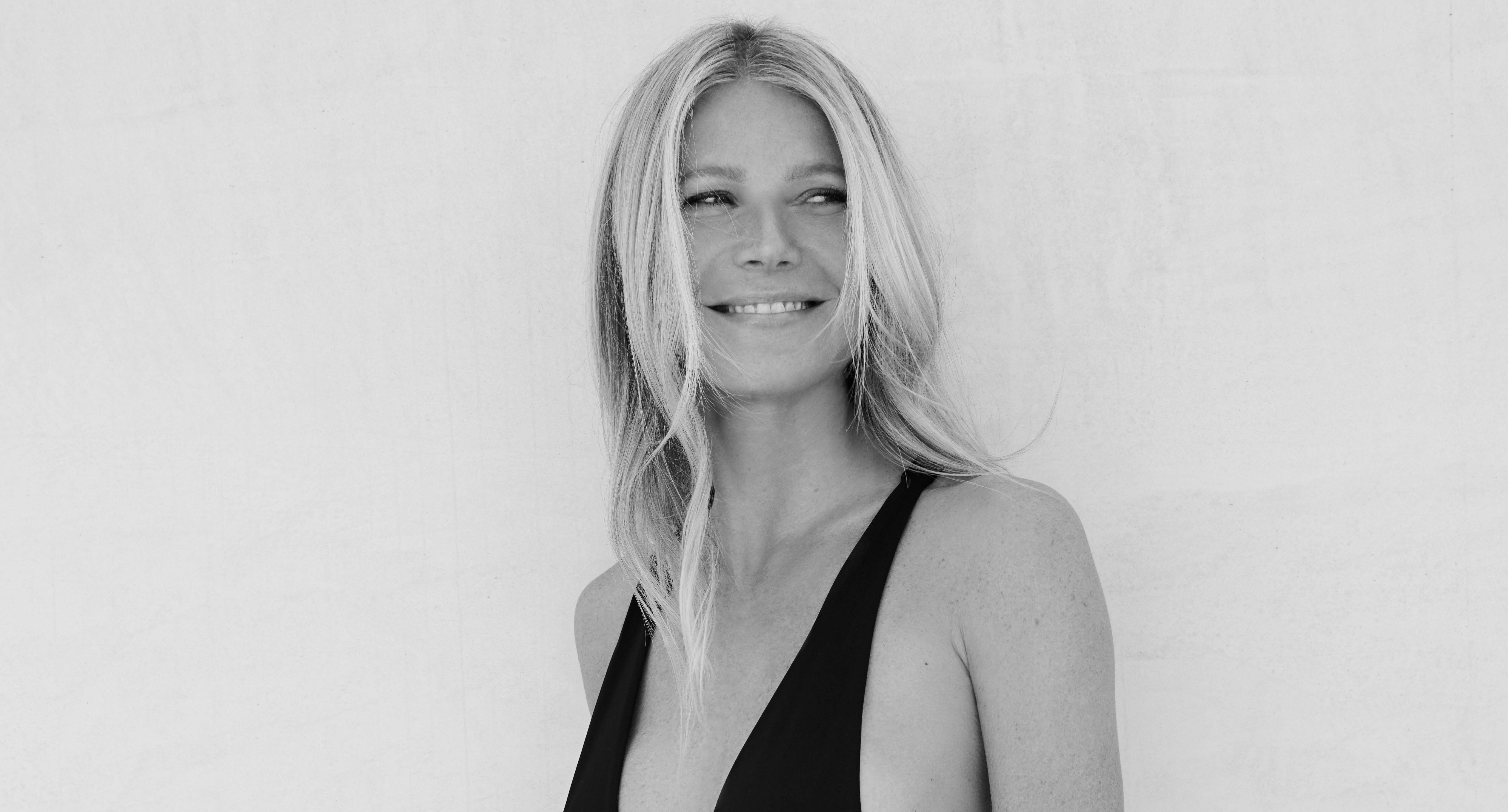 4a3bcd141df Gwyneth Paltrow, 46, models bikini for her new swimsuit range: 'This is the  mom bod I want'