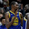 The 'intense' exchange between Kevin Durant and Draymond Green is reportedly still being adjudicated