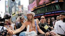 New York's Naked Cowboy just had a gig at Bike Week in Florida. Didn't go well, cops say