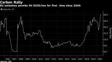 Permisos de carbono de la UE alcanzan mayor precio en 14 años