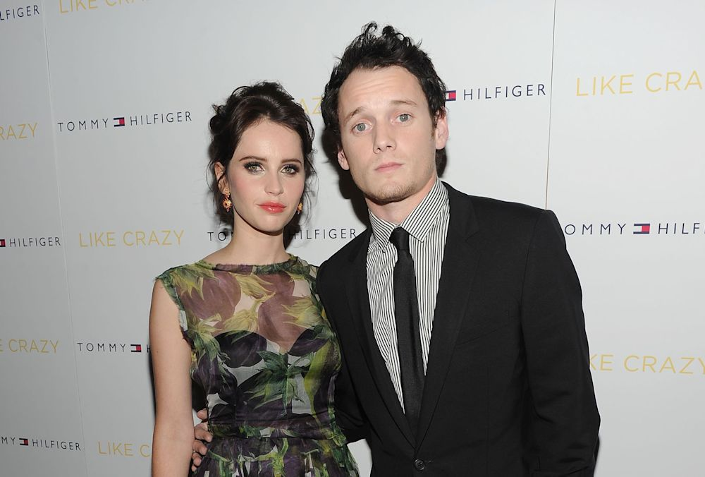 Felicity Jones talks about losing Anton Yelchin, and our hearts break all over again
