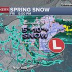 Severe spring snowstorms move across US