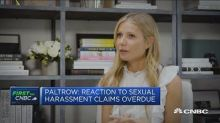 Gwyneth Paltrow has no regrets about sharing Harvey Weinstein story