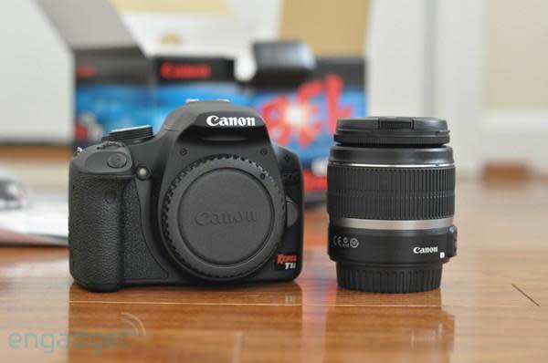 Canon EOS Rebel T1i impressions, head-to-head with Nikon D5000