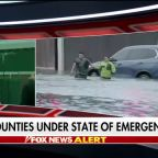 13 Texas counties under state of emergency after flooding from tropical storm