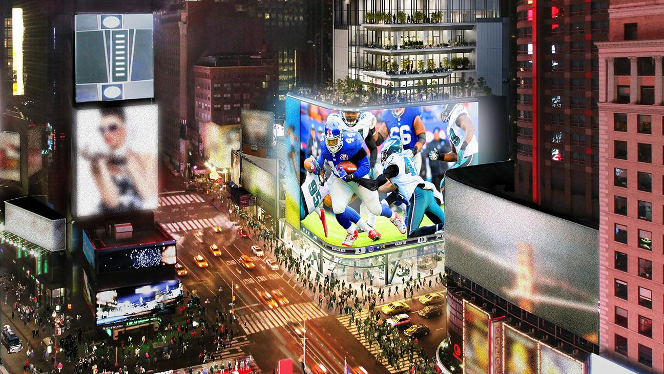 NFL, Cirque du Soleil Team to Create New York Times Square Exhibit