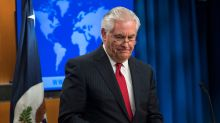 Fired by Trump over Twitter, Tillerson doesn't thank him
