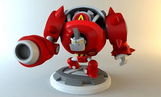 Awesomenauts' imaginary 80s cartoon gets a real toy