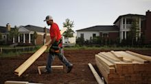 Homebuilder shares fall after JP Morgan says housing recovery will be 'tepid,' downgrading 5 stocks