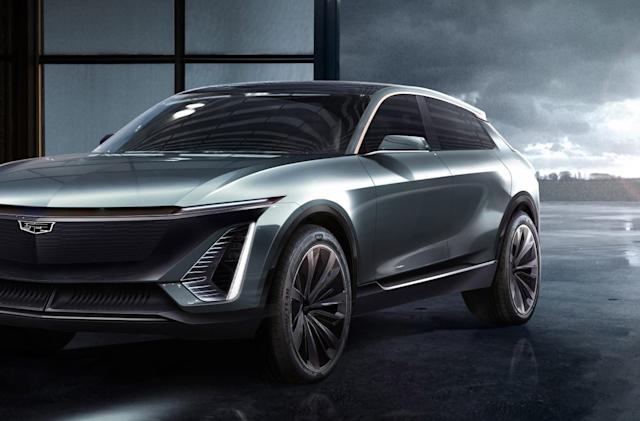 Cadillac drops teaser pics of its first electric vehicle