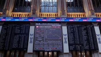 La bolsa española baja el 1,01 % y pierde los 7.400 puntos