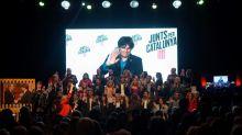 """Puigdemont pide concentrar el voto en JxCat para """"parar los pies"""" a Borrell"""