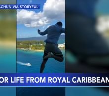 Royal Caribbean bans man who jumped from cruise ship