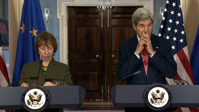 Kerry, Ashton: Russia failing to hold up Geneva deal on Ukraine