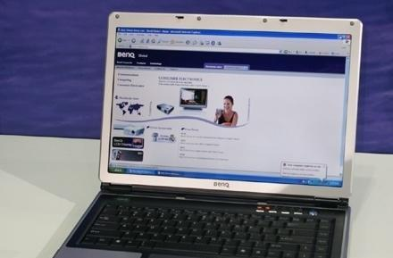 BenQ busts out P52 and R55 dual core Joybooks