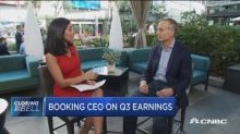 Booking CEO says travel sites are flying higher