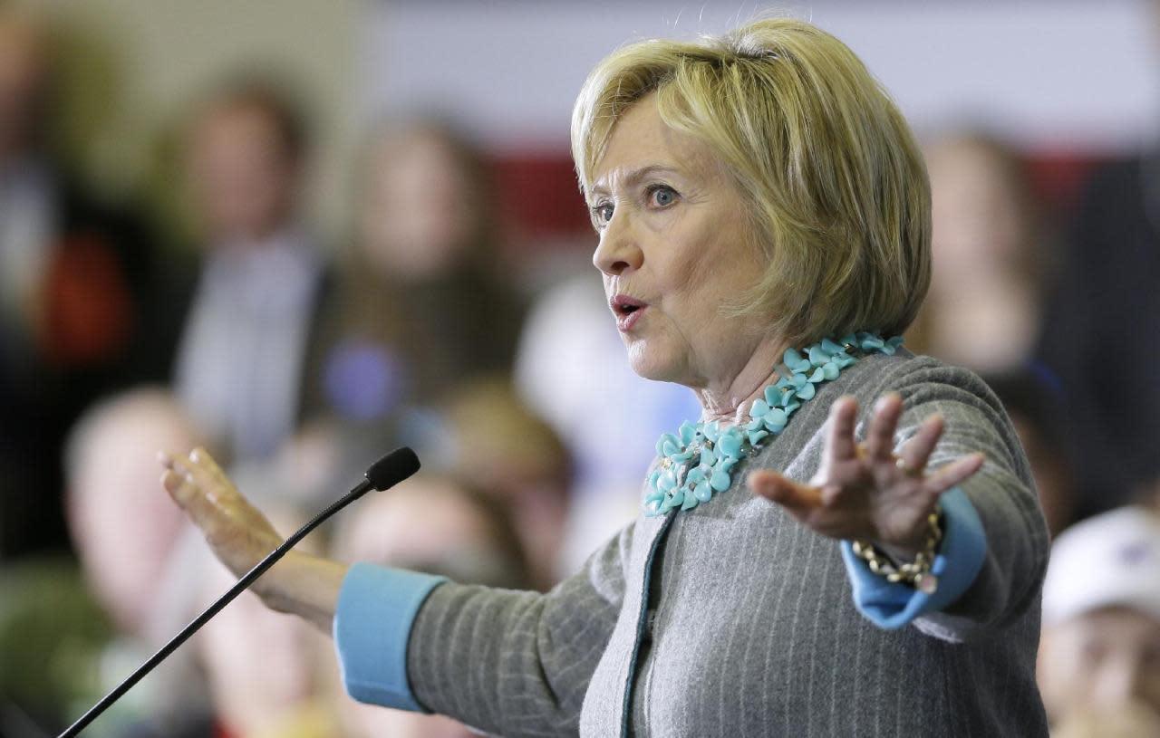 Hillary Clinton on Donald Trump: 'I no longer think he's funny' - Yahoo Politics