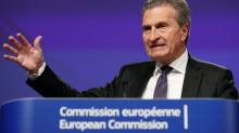 EU's Oettinger says Italy's draft budget does not meet EU guidelines - Spiegel