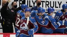 Landeskog scores 200th goal, Avalanche rout Blues 8-0