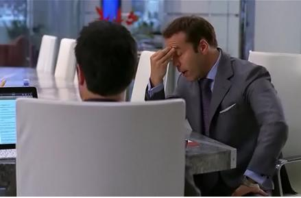 Screen Grabs: Ari Gold will definitely fire this guy once he notices he's using an iPad