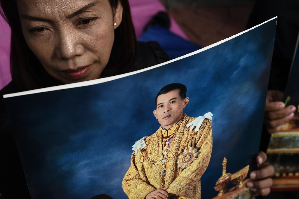 Thailand's royalist establishment was incensed by a profile of new King Maha Vajiralongkorn which the BBC Thai service published following the October death of his father King Bhumibol Adulyadej (AFP Photo/Lillian SUWANRUMPHA)