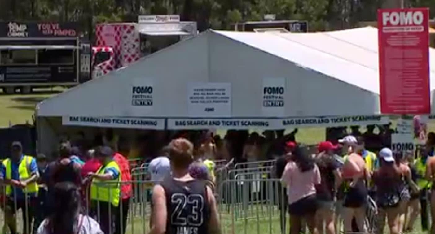 Teen dies of suspected drug overdose at FOMO music festival