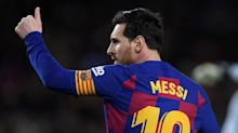 Messi's father and agent hints star could stay at Barcelona after confirming talks with club went 'well'
